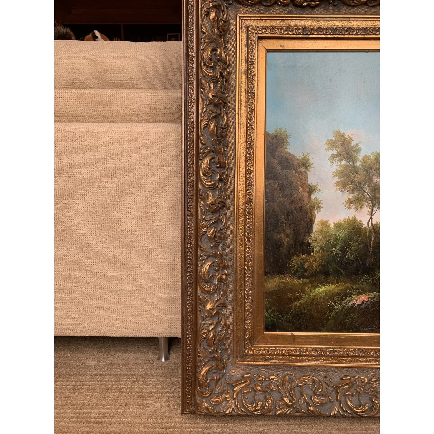 Framed Early 20th Century Oil Painting - G.Henson - image-8