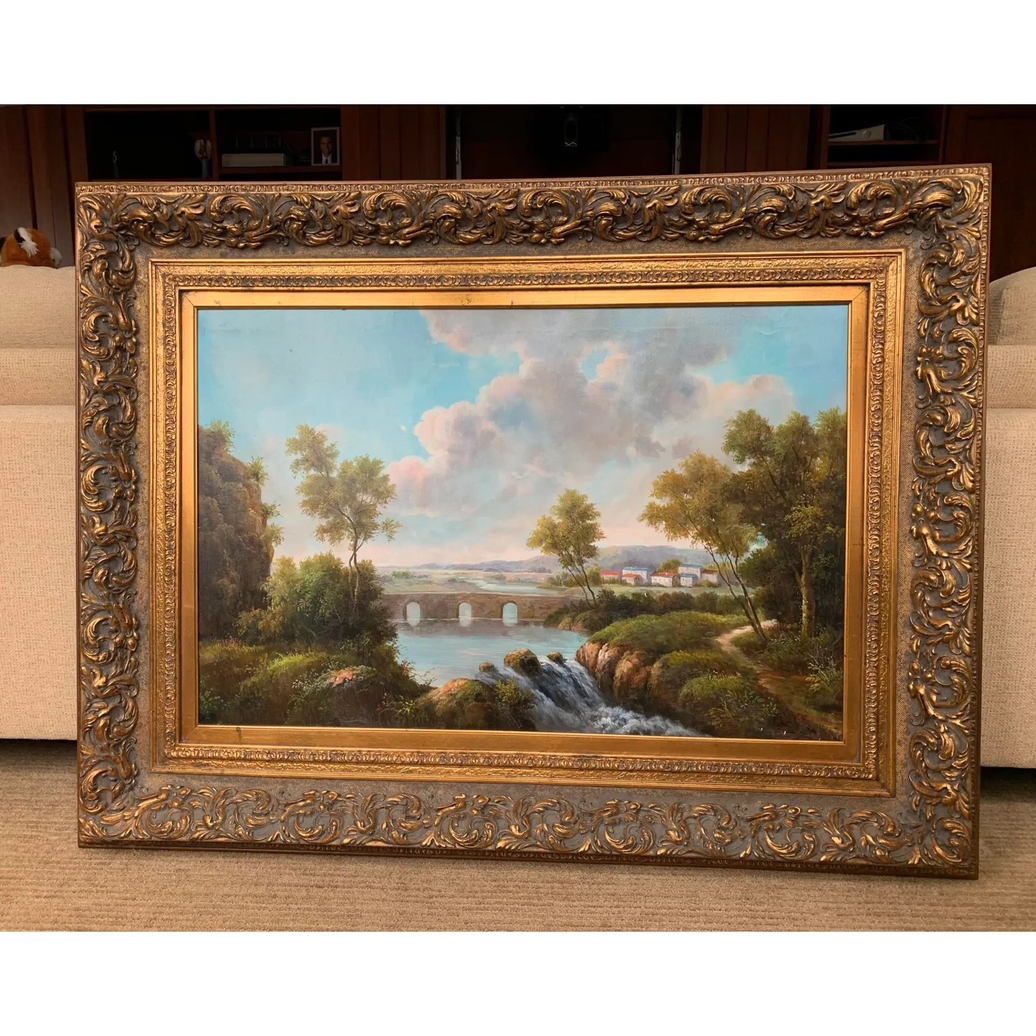 Framed Early 20th Century Oil Painting - G.Henson - image-12