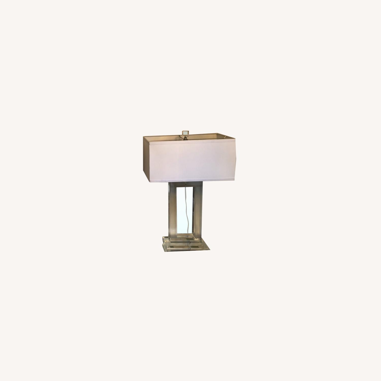 Lamps Plus Pair of Glass Lamps - image-0