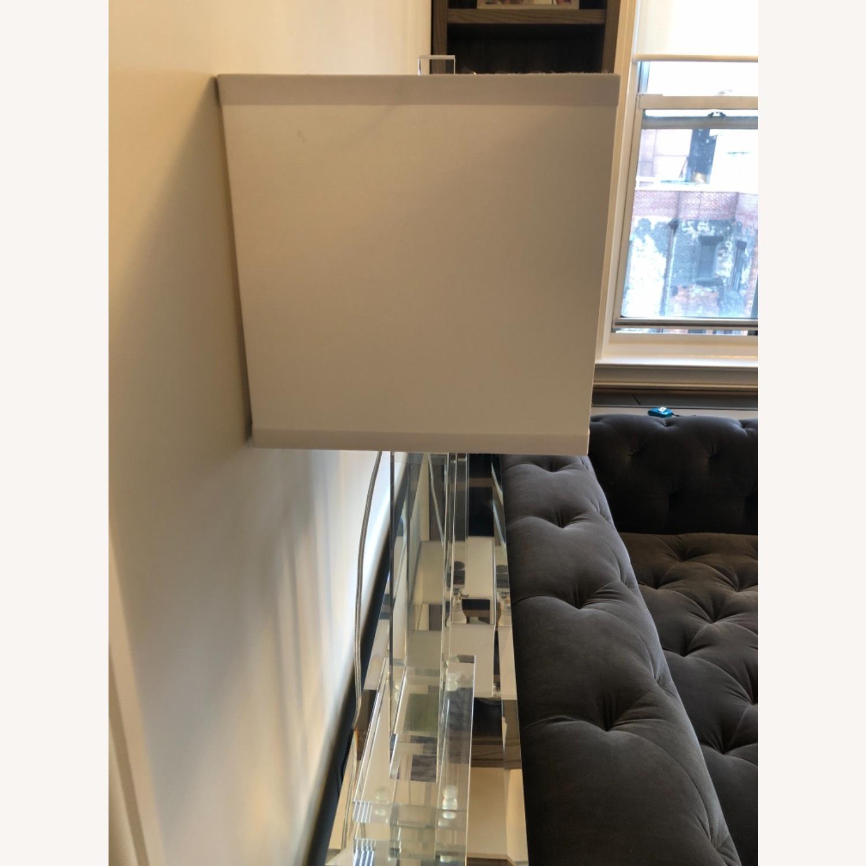 Lamps Plus Pair of Glass Lamps - image-3