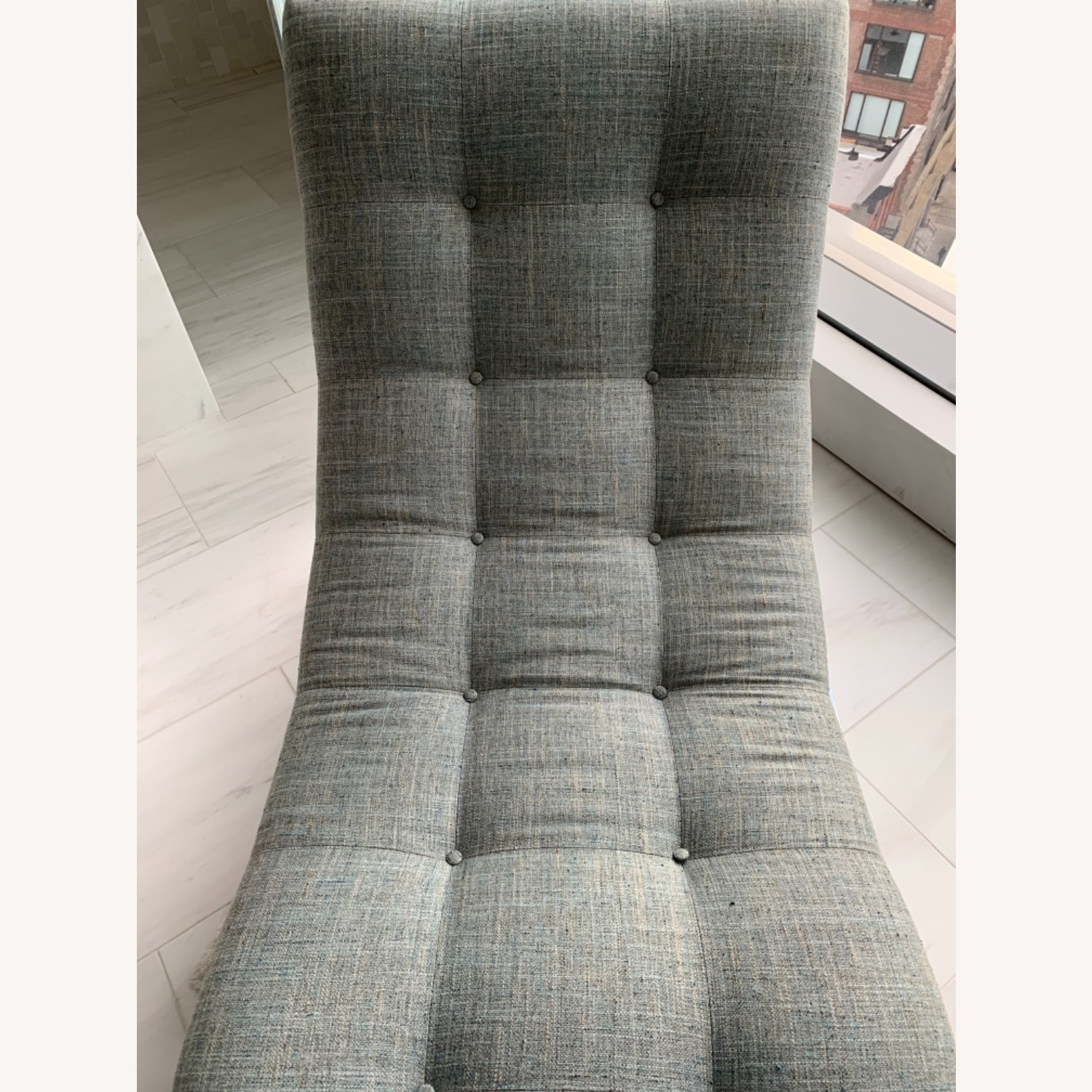 Tufted Recliner Chair - image-5