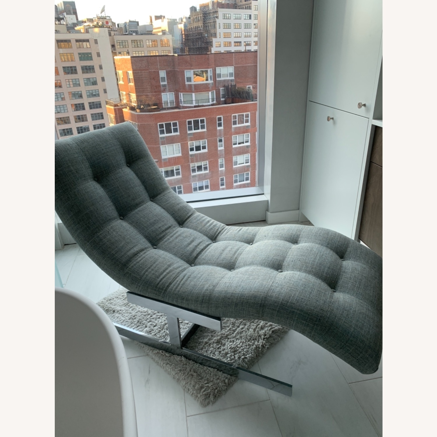 Tufted Recliner Chair - image-3