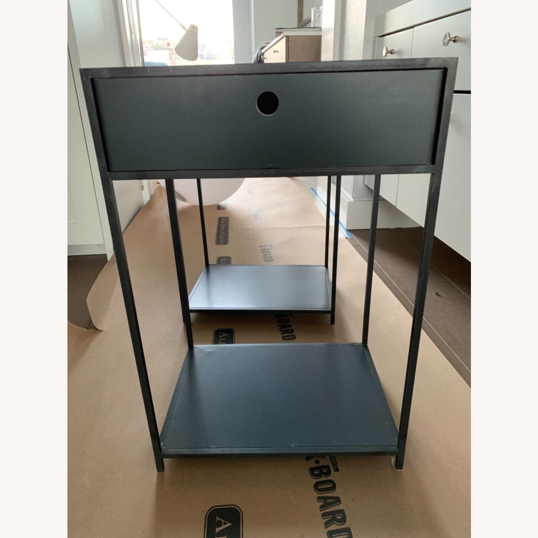Custom Metal Side Table Set - image-1
