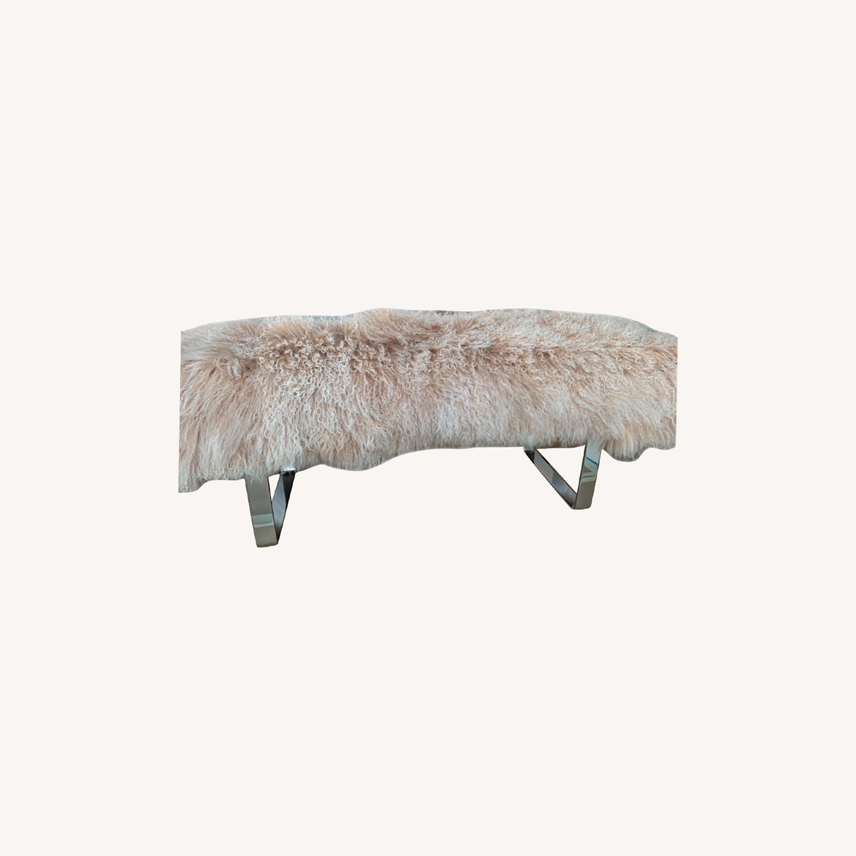 Custom Fur Bench - image-0