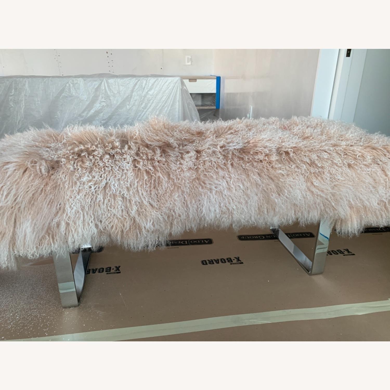 Custom Fur Bench - image-1