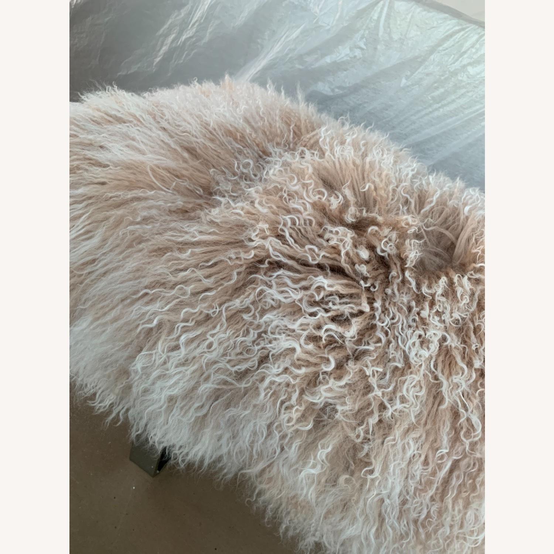 Custom Fur Bench - image-4