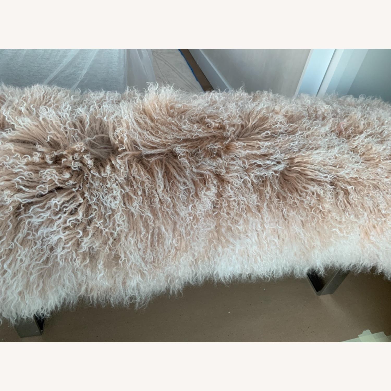 Custom Fur Bench - image-5