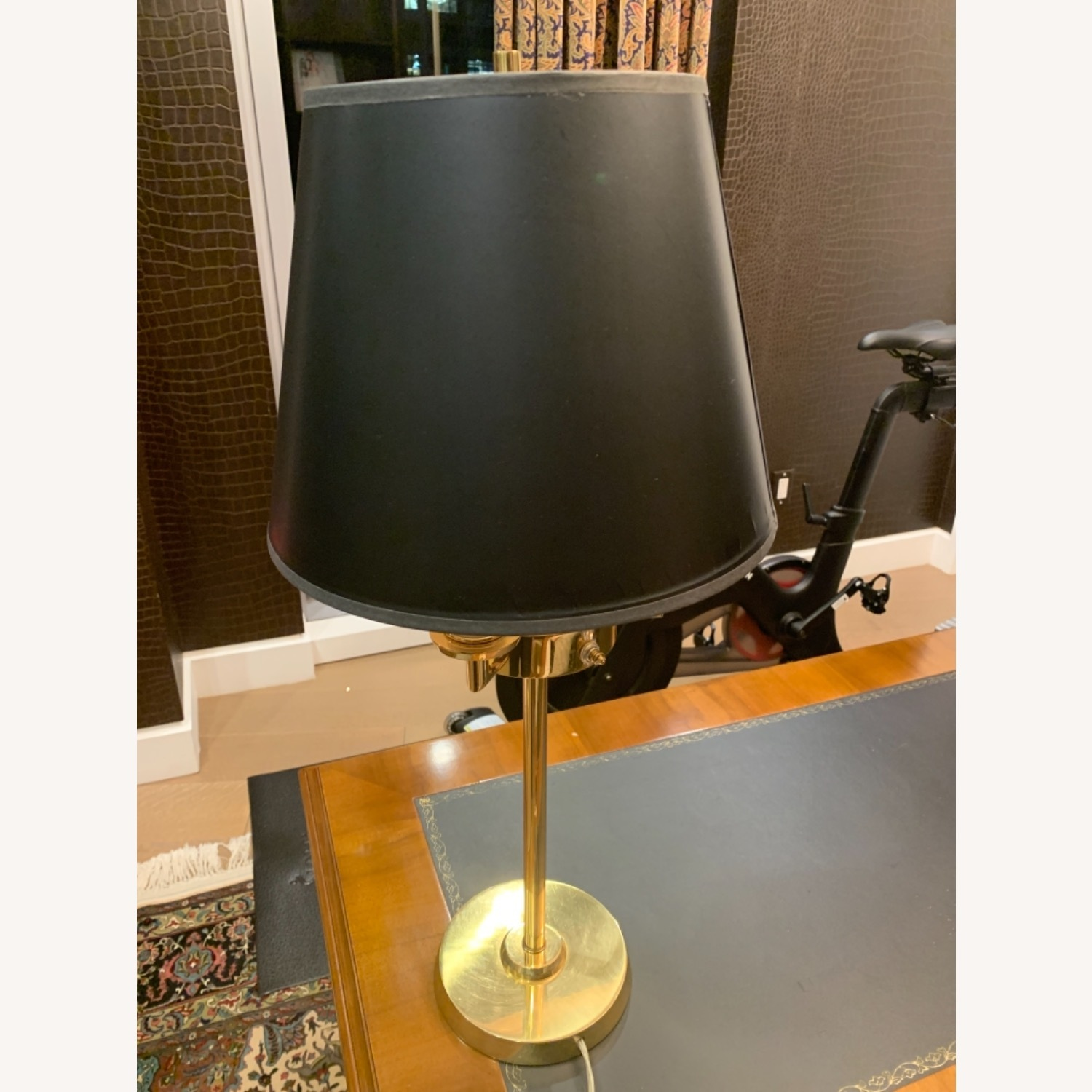 Gold Plated Table Lamp - image-1