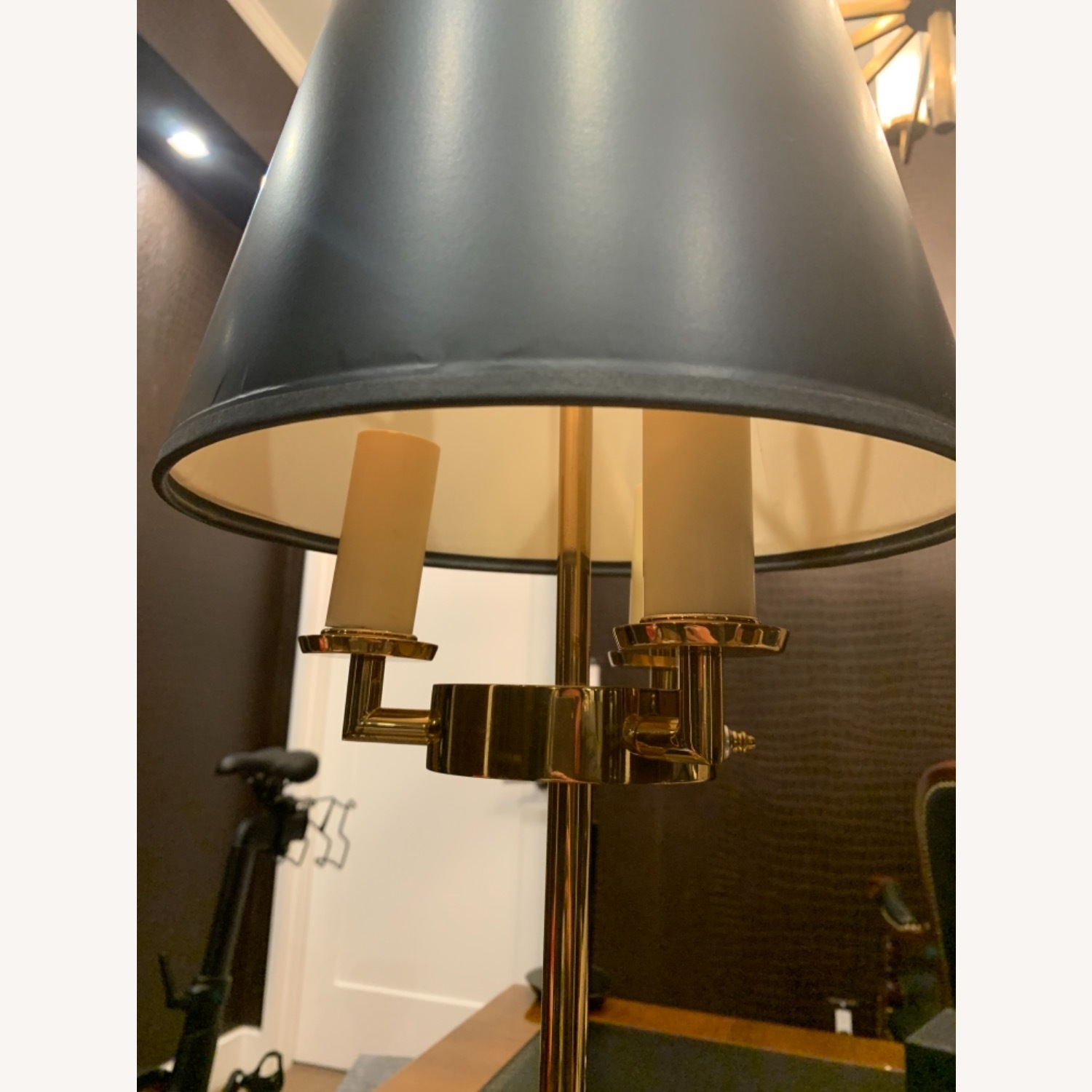 Gold Plated Table Lamp - image-4