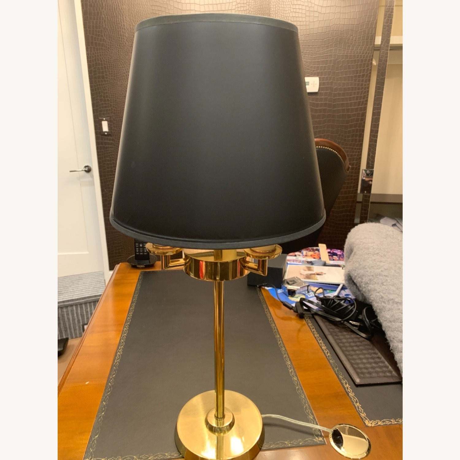 Gold Plated Table Lamp - image-2