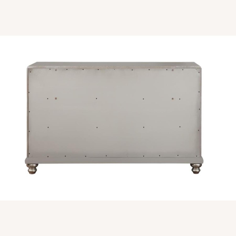 Dresser In Metallic Platinum W/ 7 Drawers - image-3