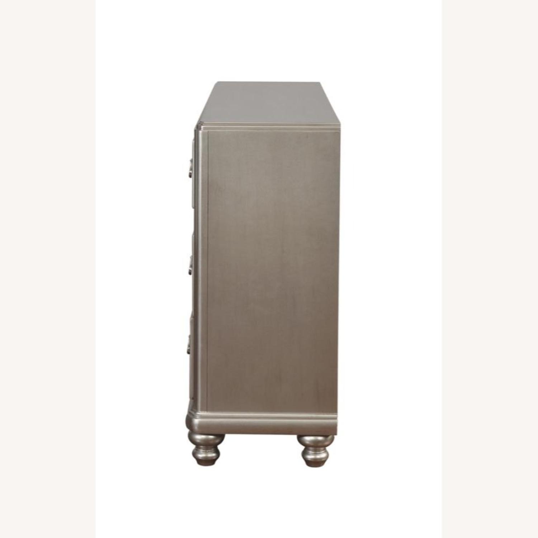 Dresser In Metallic Platinum W/ 7 Drawers - image-2