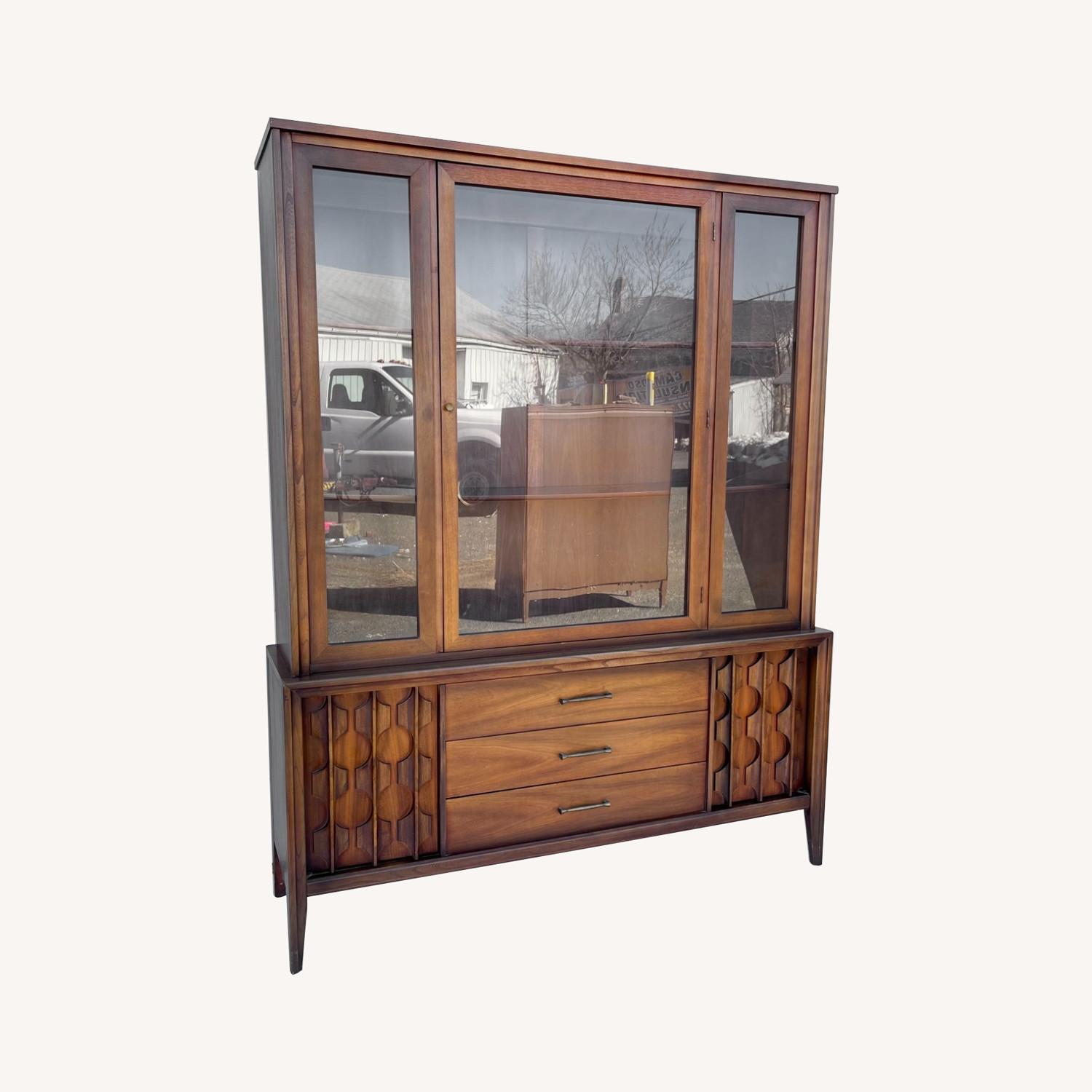 Mid-Century Modern Sideboard With Cabinet - image-0