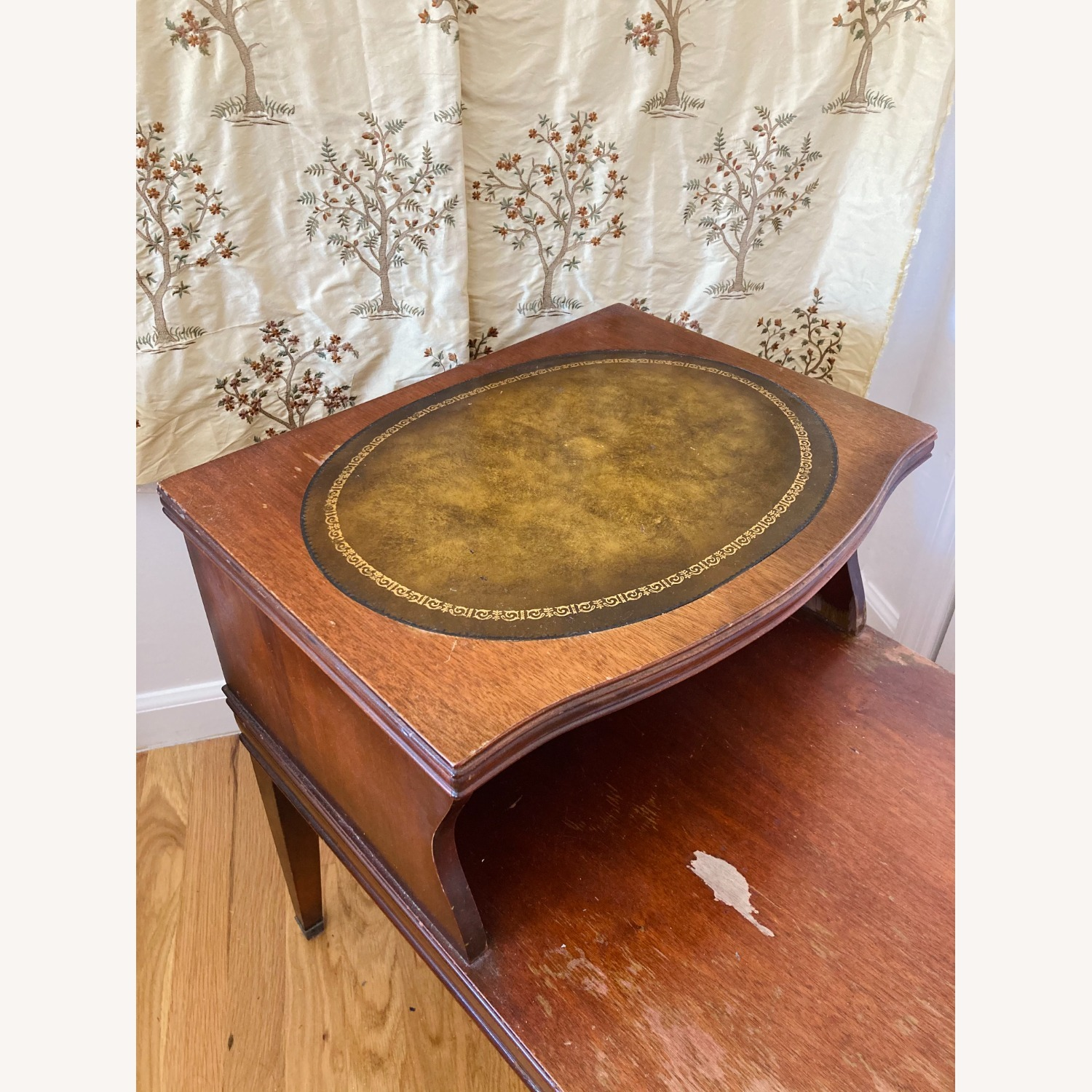 Vintage Wooden Side Table - image-5