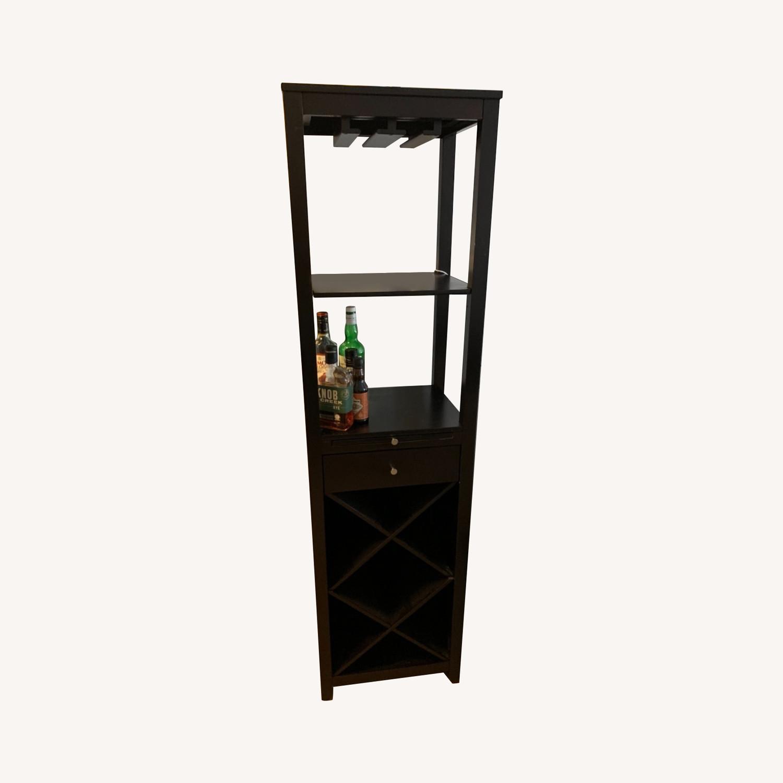 Brown, Wooden Wine Rack - image-0