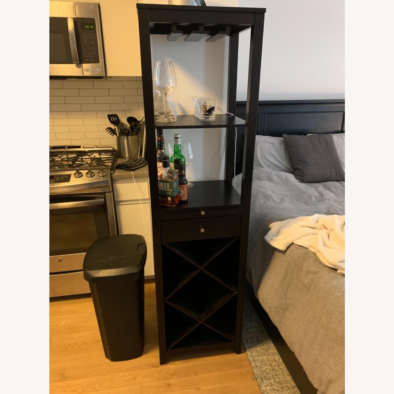 Brown, Wooden Wine Rack - image-1