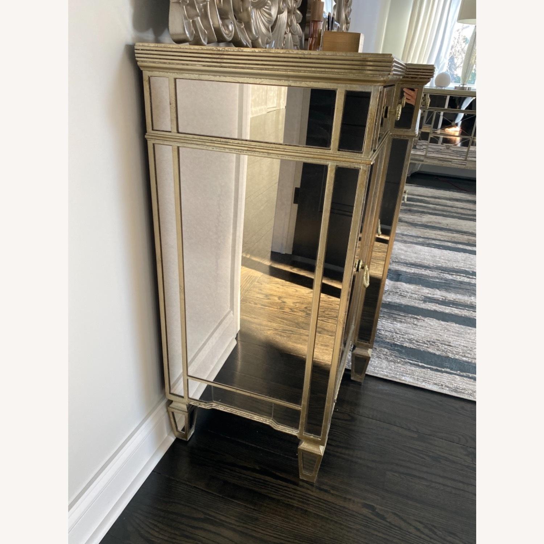 Bassett Mirrored Buffet- Console- Dresser - image-3