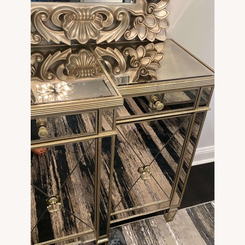 Bassett Mirrored Buffet- Console- Dresser - image-2