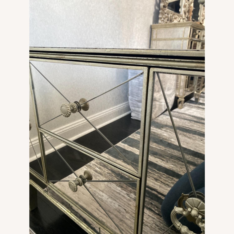 Bassett Mirrored Nightstand - image-5