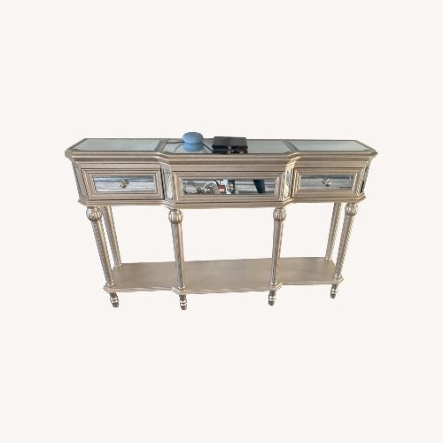 Used Mirrored Hallway Table Console for sale on AptDeco