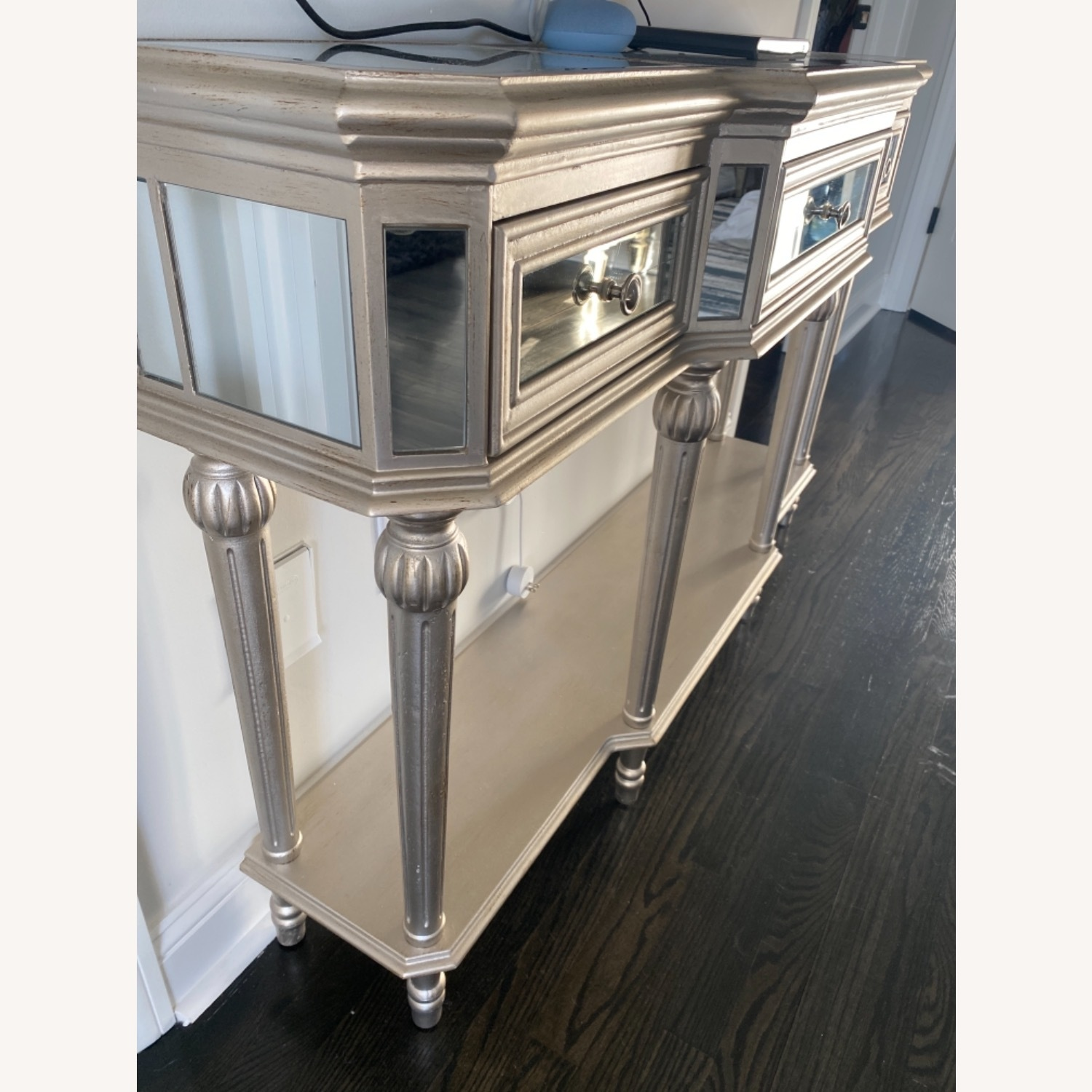 Mirrored Hallway Table Console - image-4