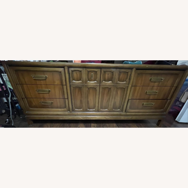 Vintage 9 Drawer Dresser - image-1