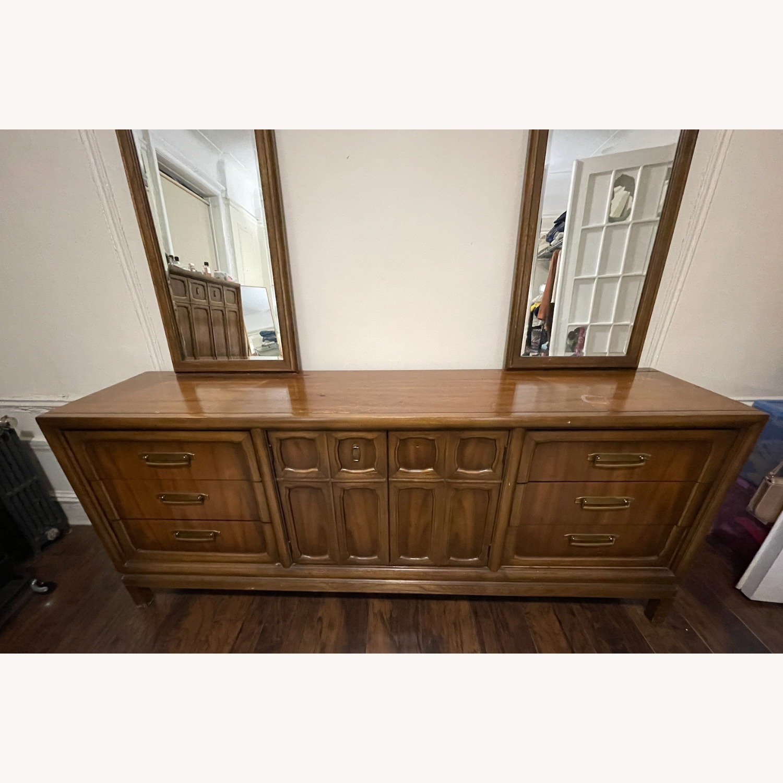 Vintage 9 Drawer Dresser - image-3