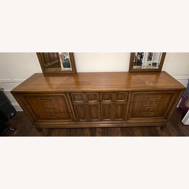 Vintage 9 Drawer Dresser - image-2