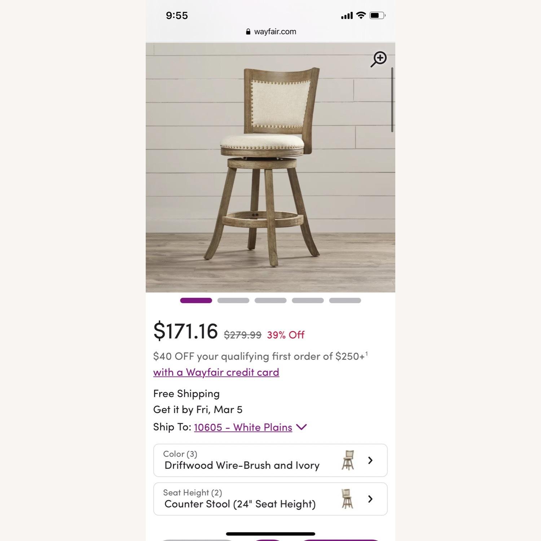 Wayfair Swivel Counter Chair - image-2