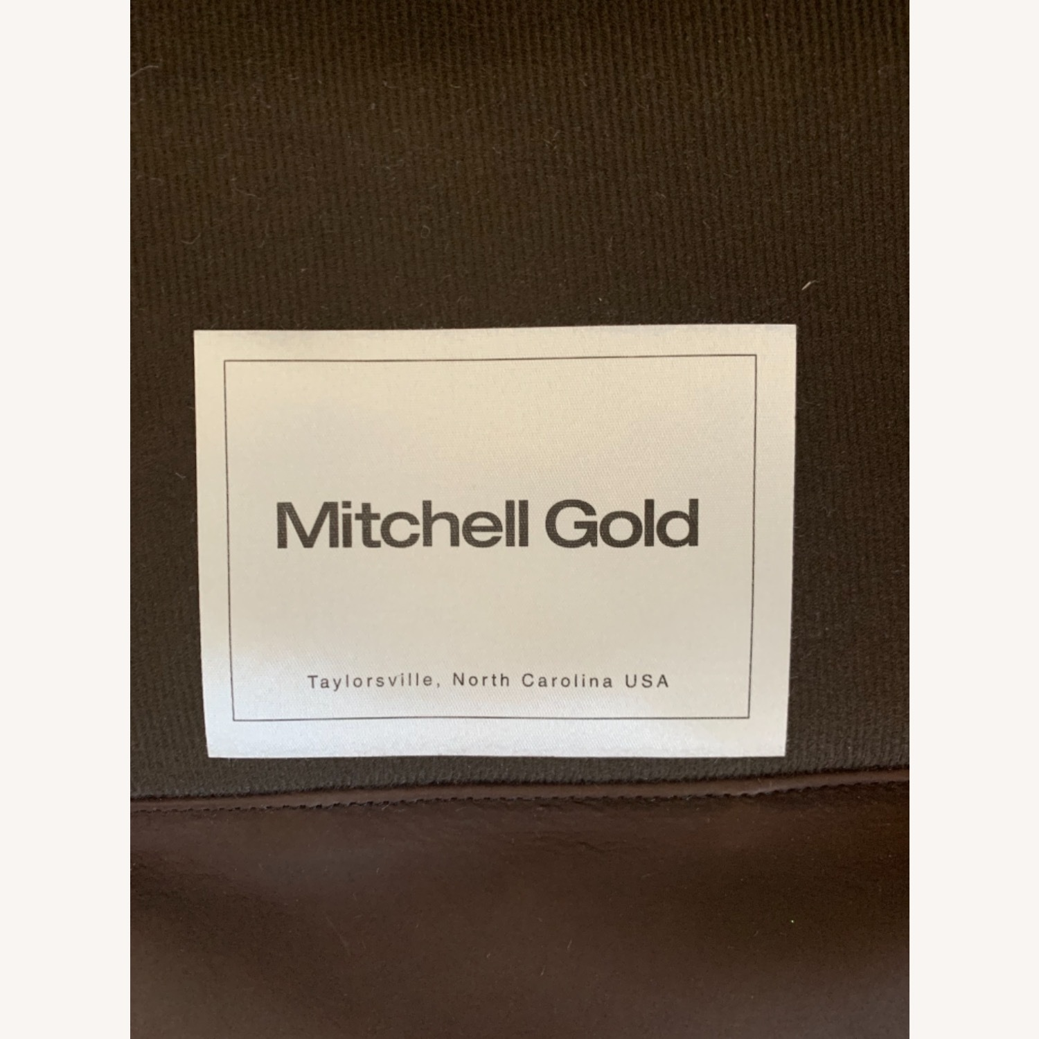 Mitchell Gold Leather Recliner - image-2