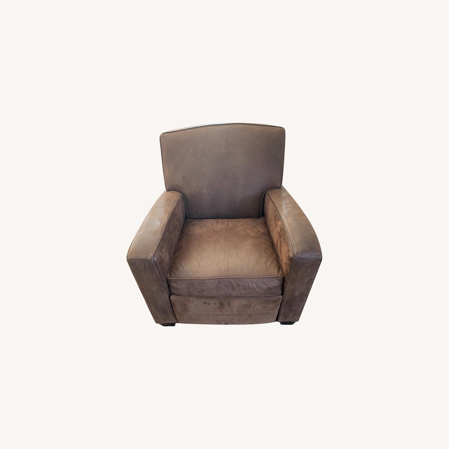 Mitchell Gold Leather Recliner - image-0