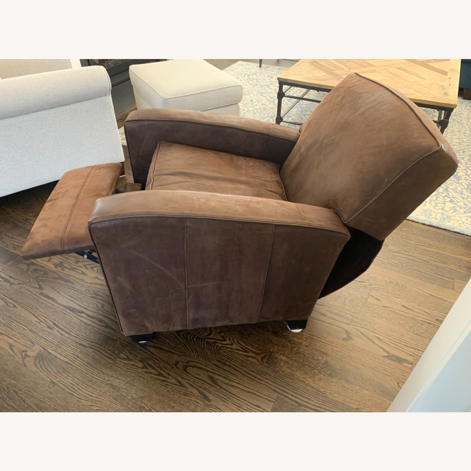 Mitchell Gold Leather Recliner - image-5