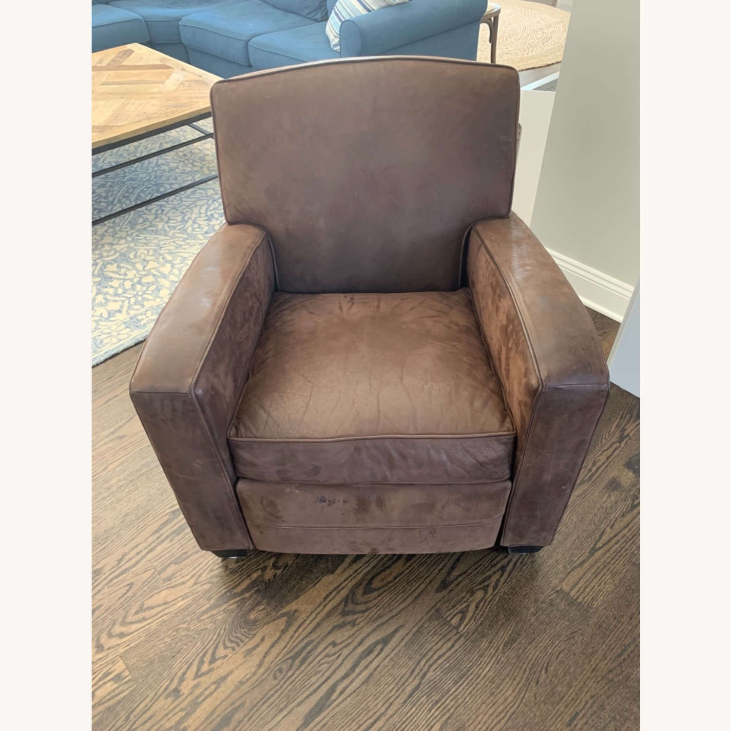 Mitchell Gold Leather Recliner - image-1