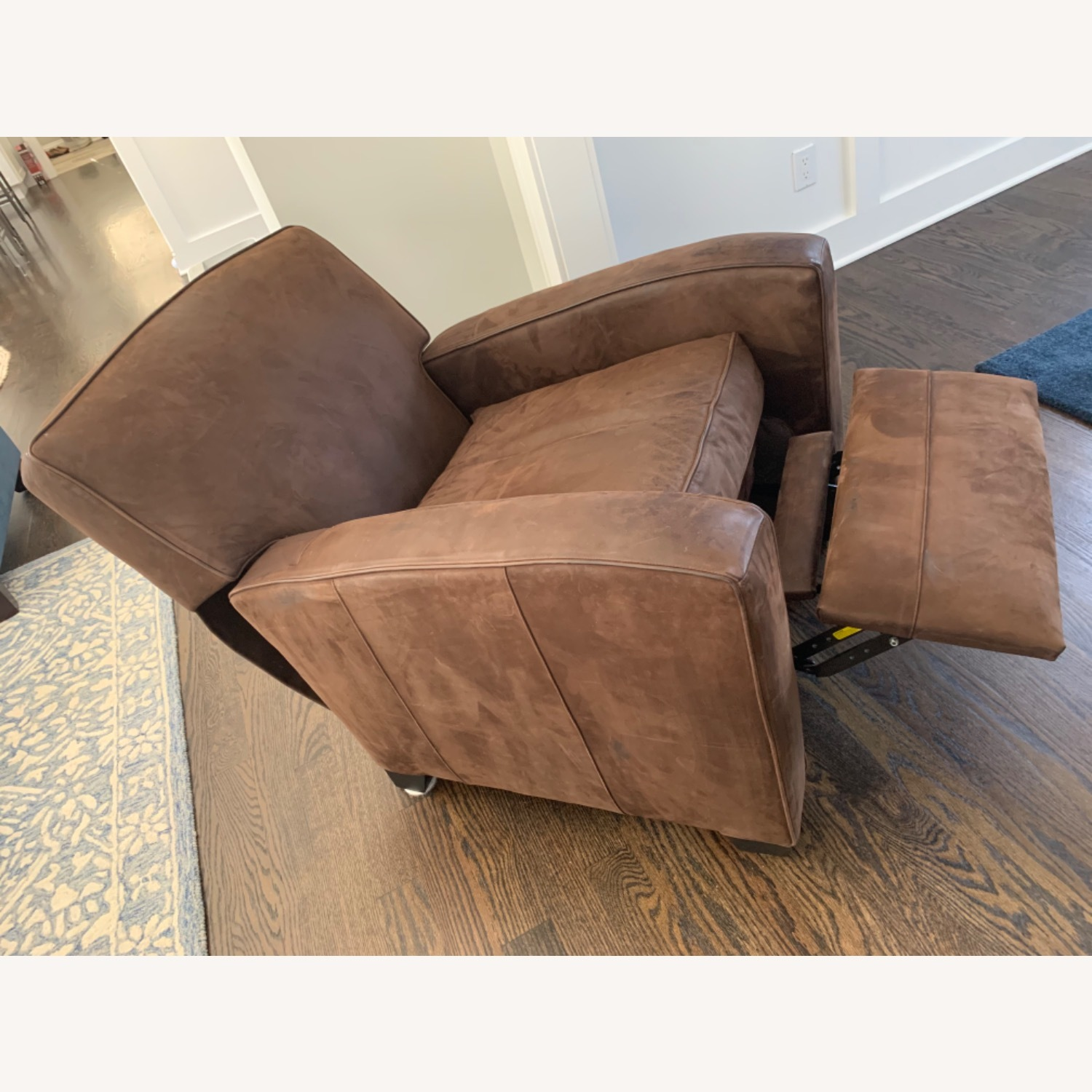 Mitchell Gold Leather Recliner - image-4
