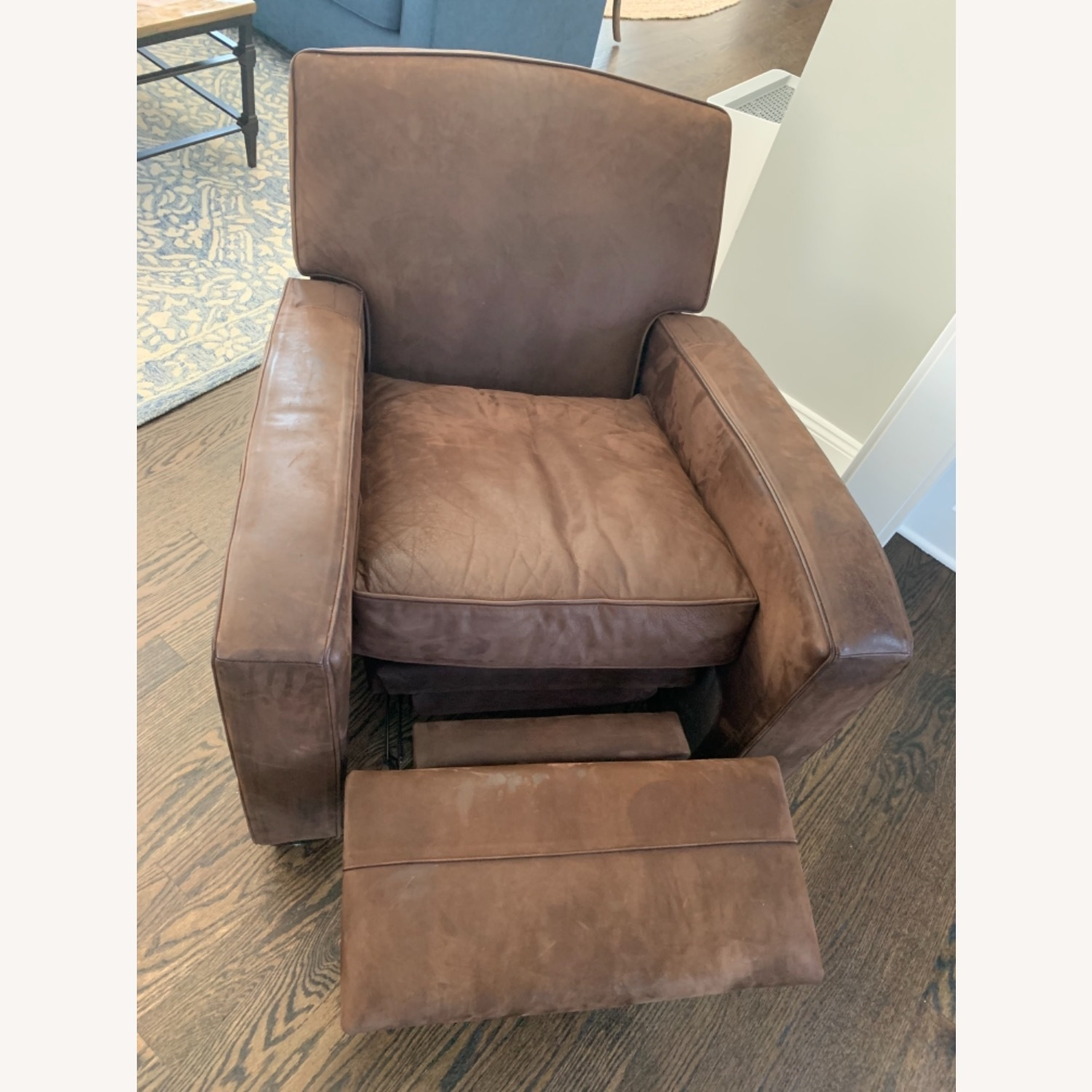 Mitchell Gold Leather Recliner - image-3