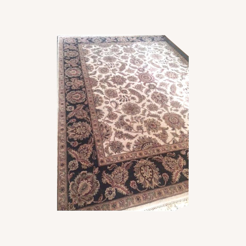 Persian Hand Woven Wool Rug - image-0
