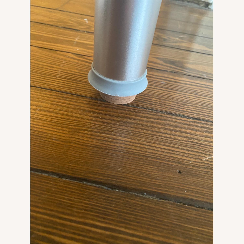 Wayfair Glass Corner Writing Desk - image-2