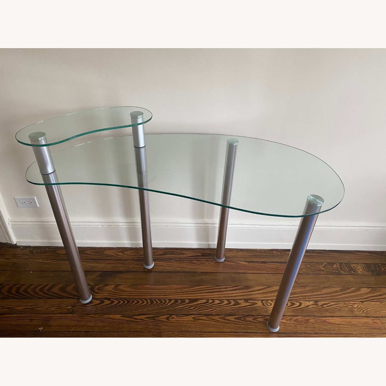 Wayfair Glass Corner Writing Desk - image-3