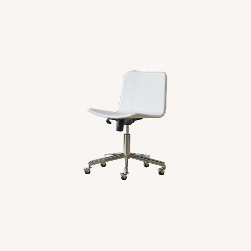 Used CB2 White Form Office Chair for sale on AptDeco