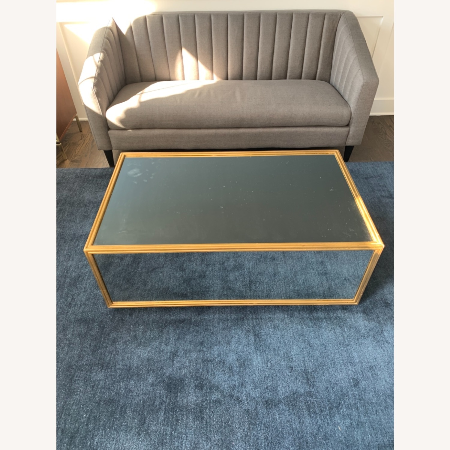 Jet Set Mirrored Cocktail Coffee Table - image-3