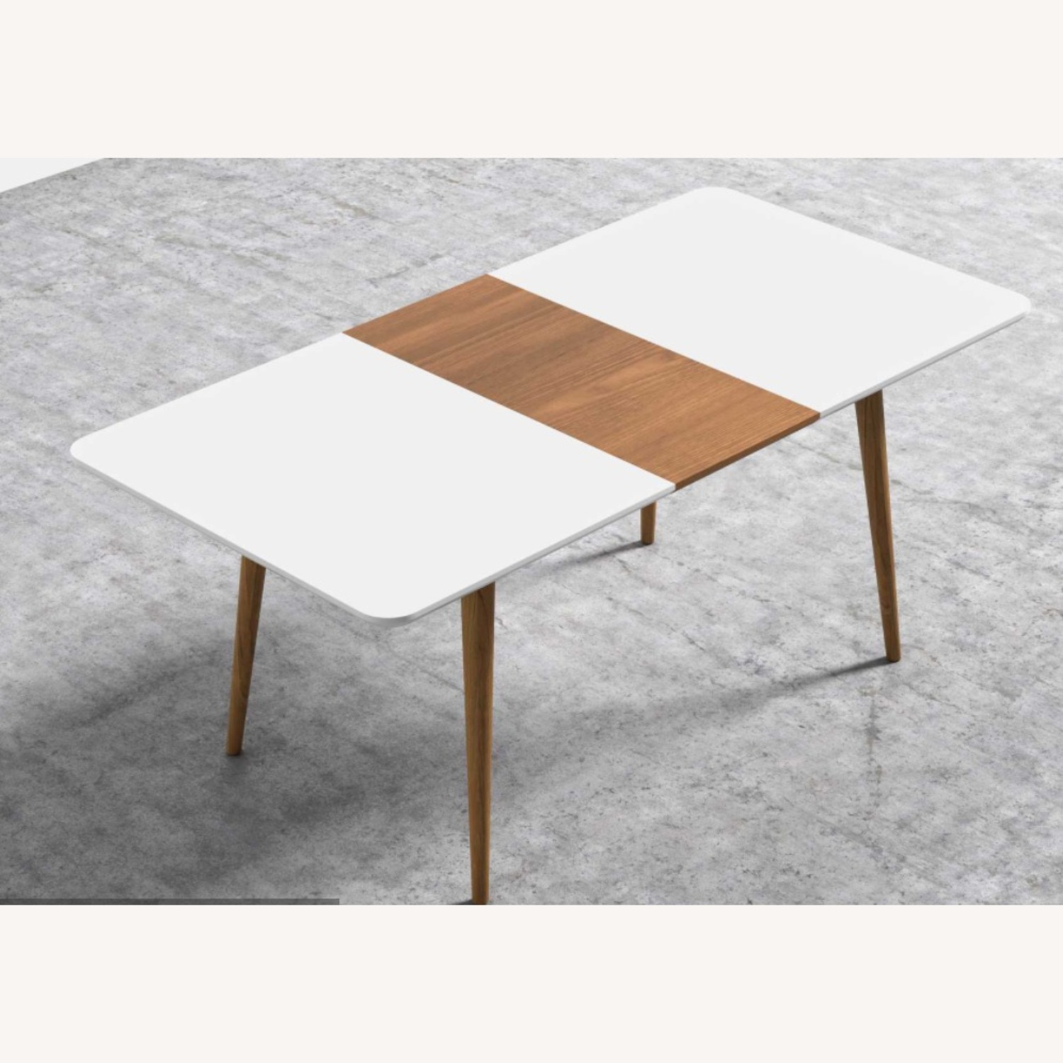 Rove Concepts White with Wood Dining Table - image-1