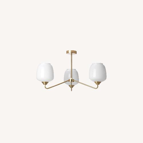 Used 3 - Light Ceiling Wall Lamp for sale on AptDeco