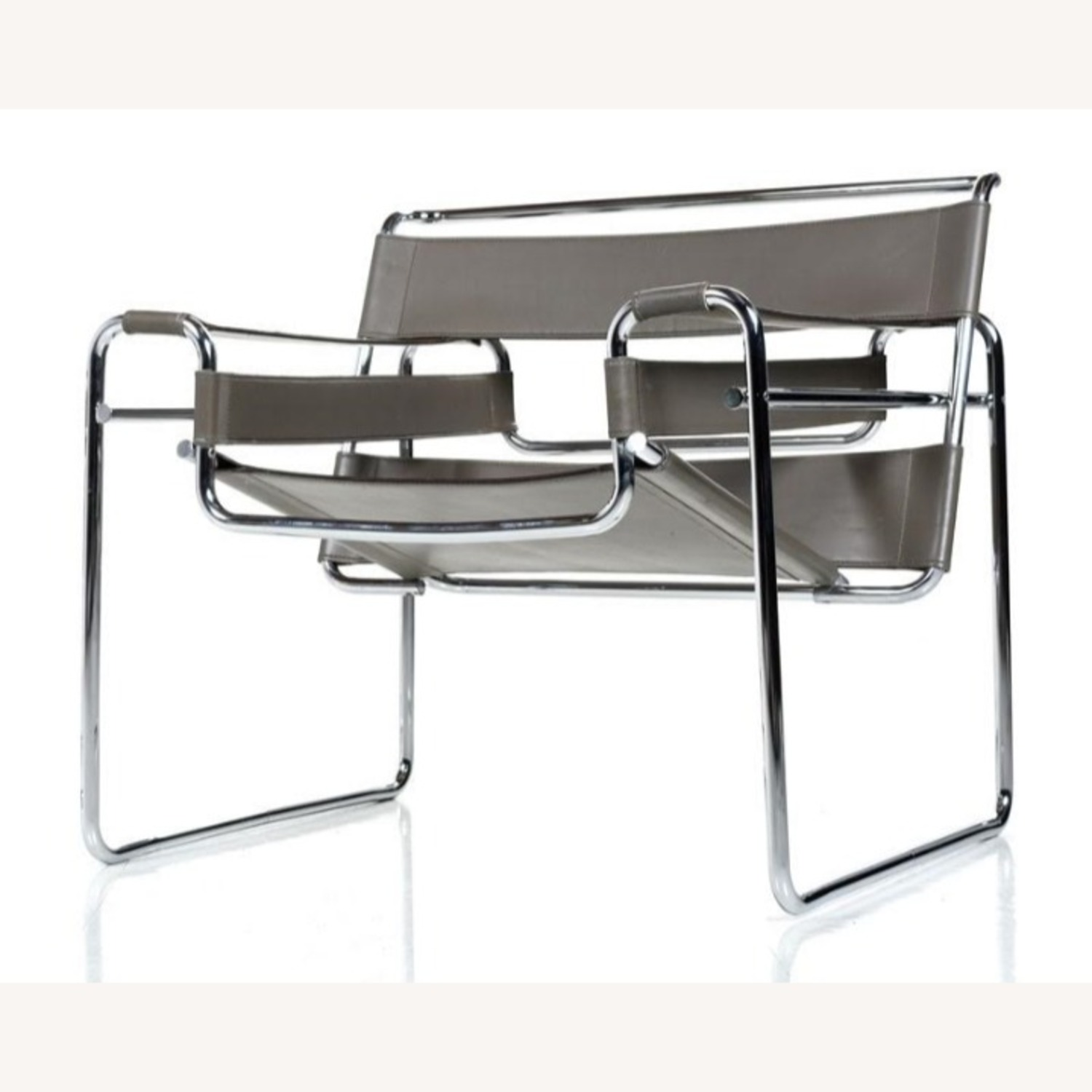 'Wassily' Leather Lounge Chair - image-1