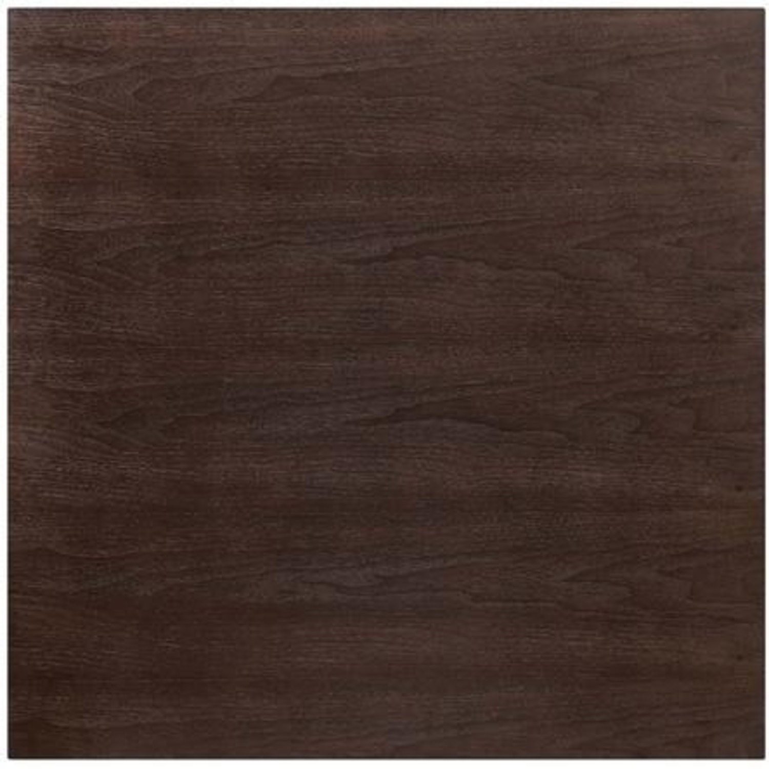 Modern Dining Table In Square Cherry Walnut Top - image-2