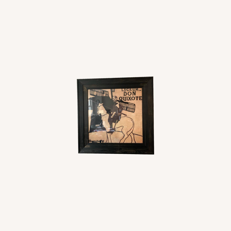 Crate & Barrel Don Quixote Print - image-0