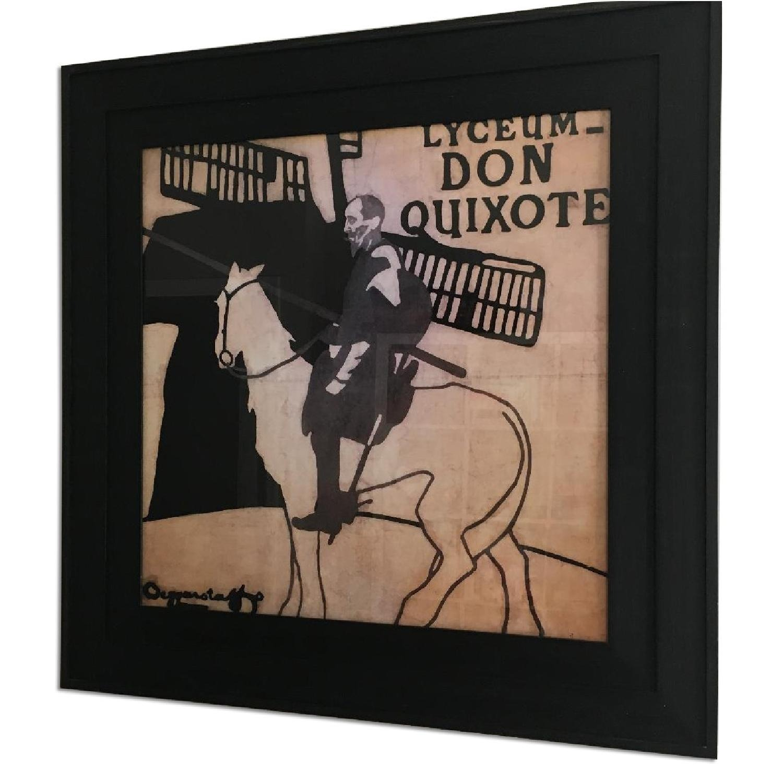 Crate & Barrel Don Quixote Print - image-1