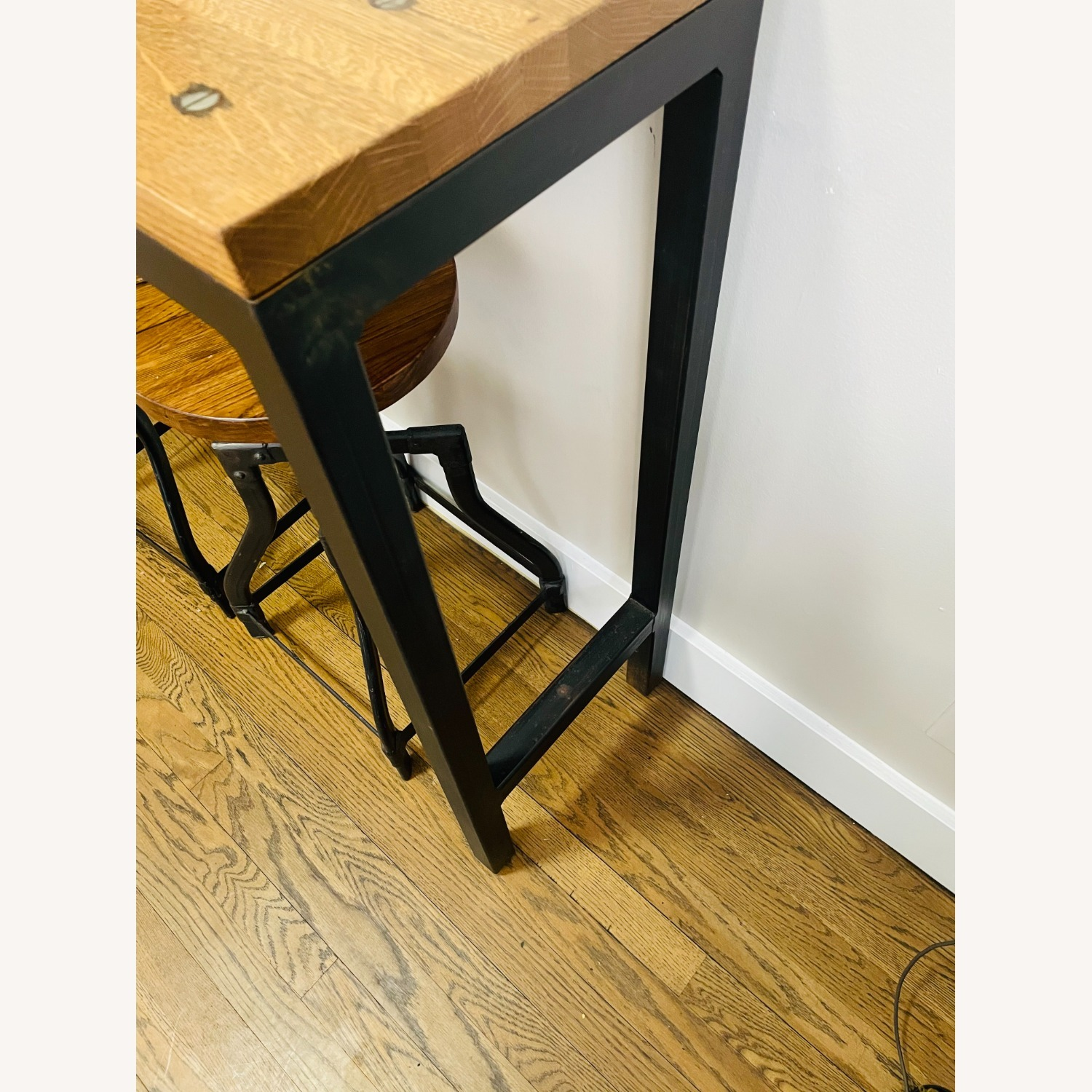 Console Table with Matching Stools - image-4