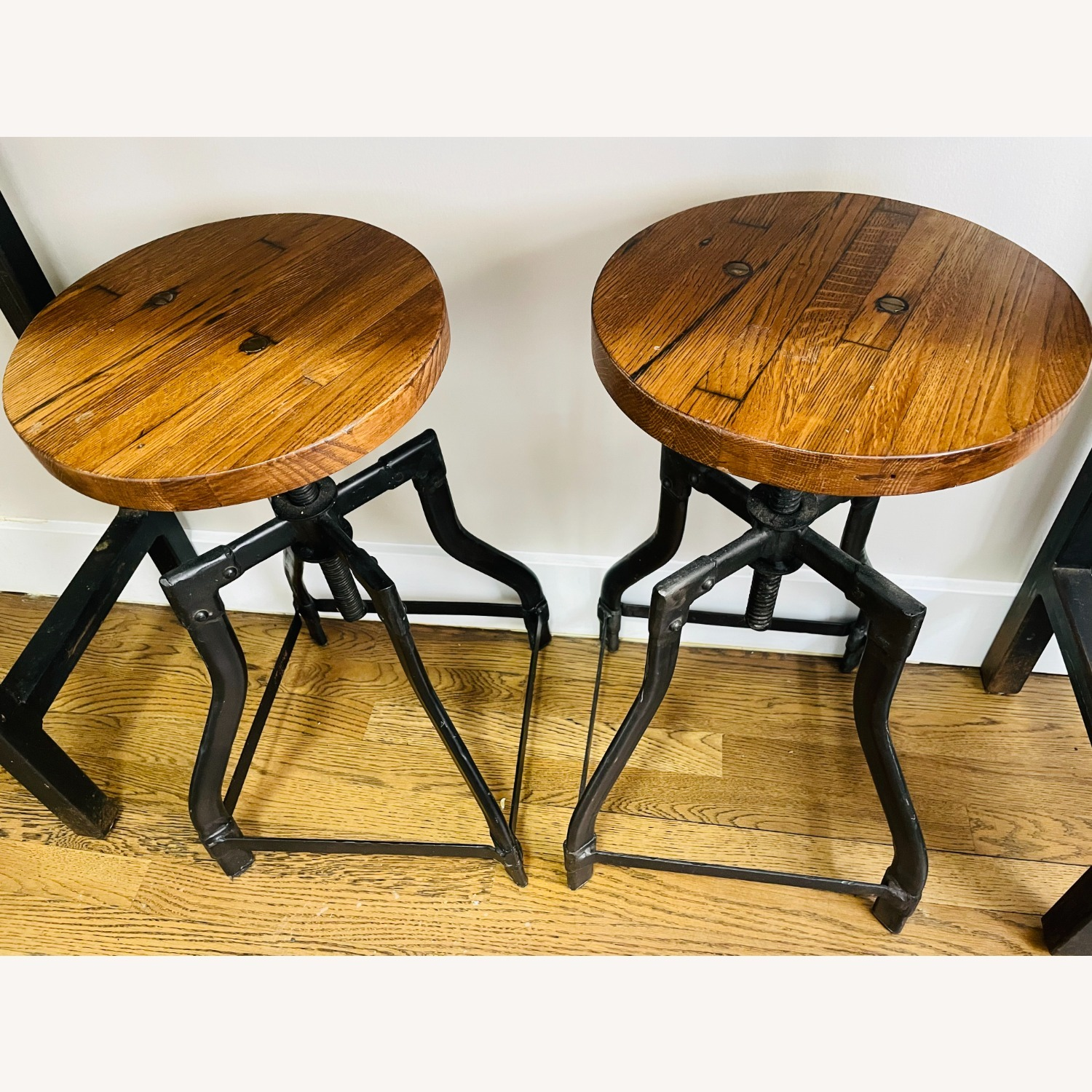 Console Table with Matching Stools - image-3