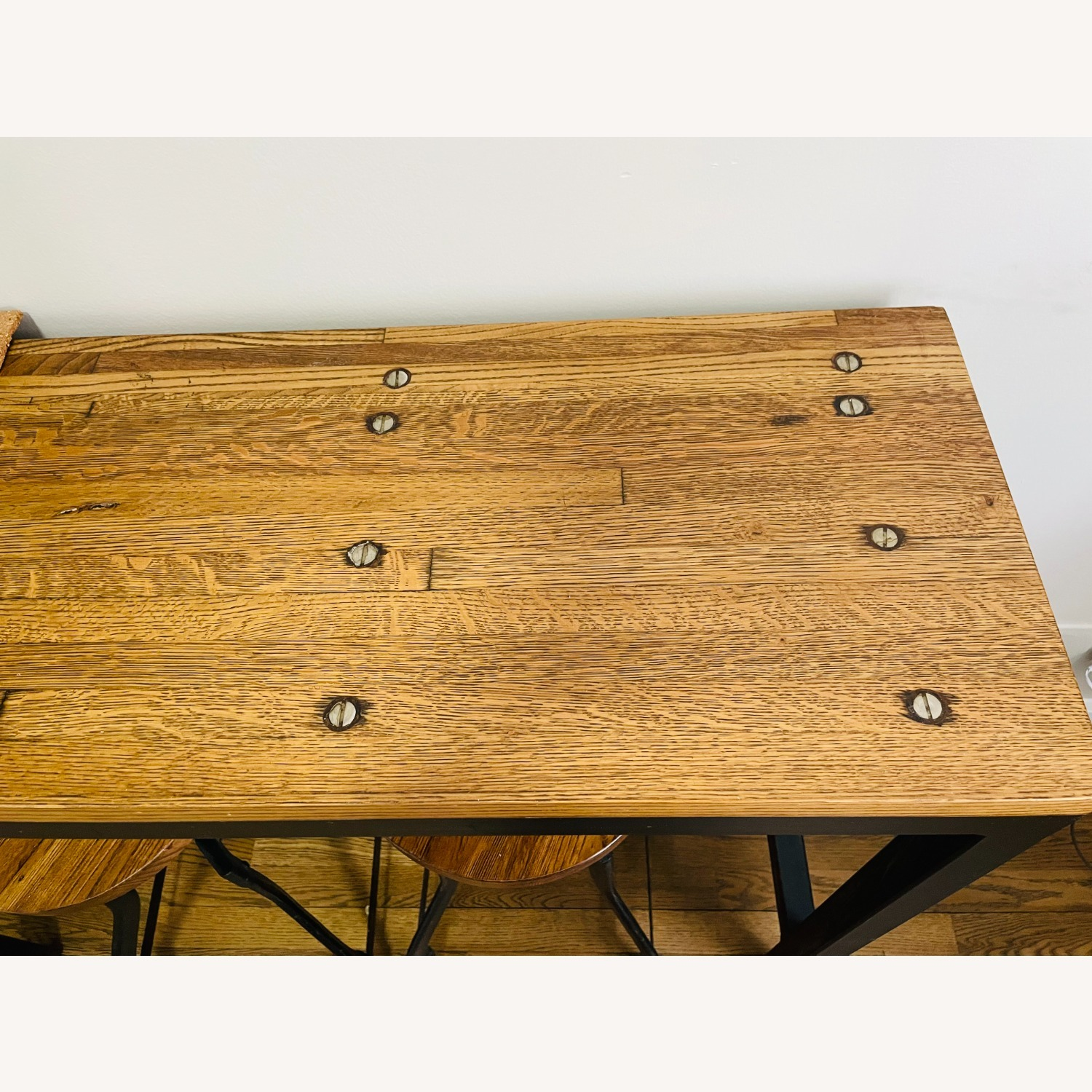 Console Table with Matching Stools - image-2