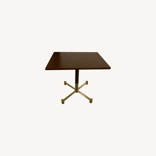 Used West Elm Bistro Style Table for sale on AptDeco